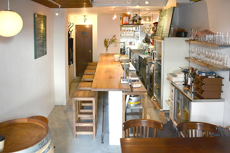 ヒノキクラフト フレンチ料理店 店舗改装2