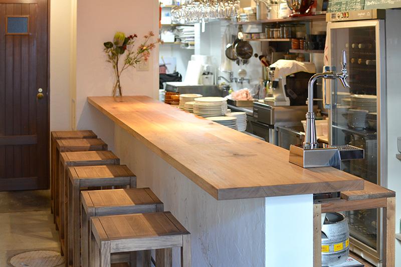 ヒノキクラフト フレンチ料理店 店舗改装9