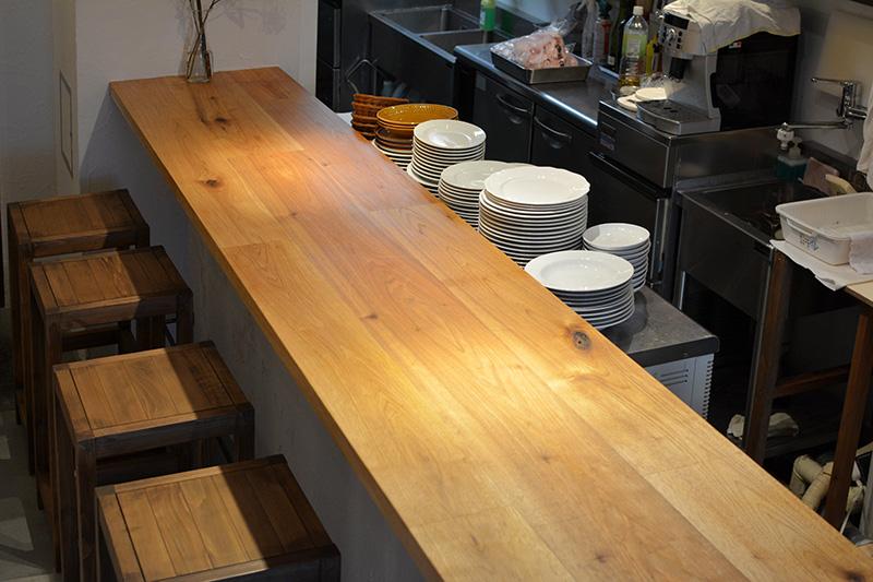 ヒノキクラフト フレンチ料理店 店舗改装4
