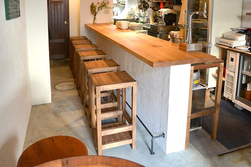 ヒノキクラフト フレンチ料理店 店舗改装5