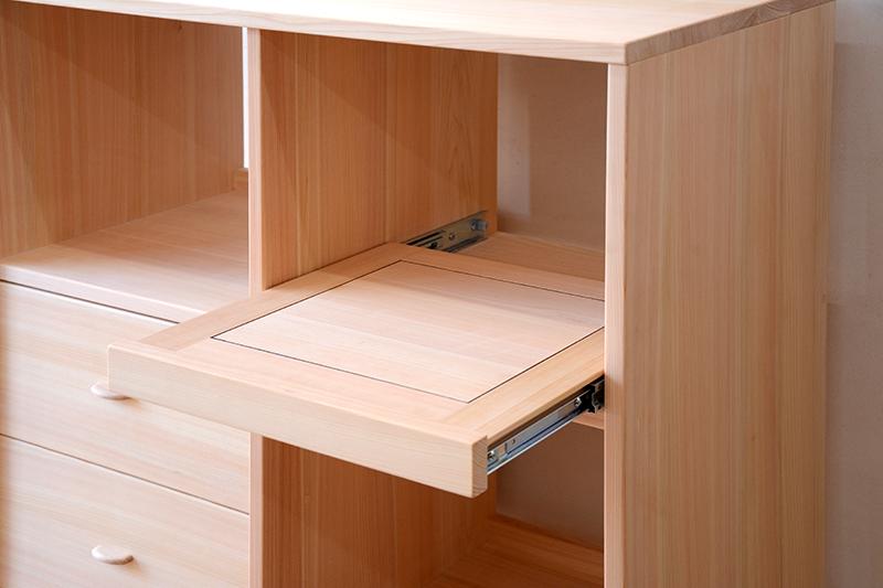 ヒノキクラフト キッチン収納棚2