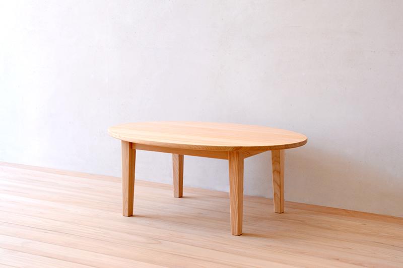 ヒノキクラフト エッグテーブル6