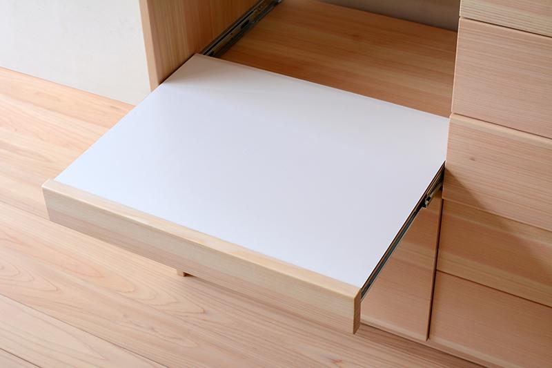 ヒノキクラフト オーダー家具 食器棚3