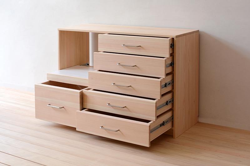 ヒノキクラフト オーダー家具 食器棚2