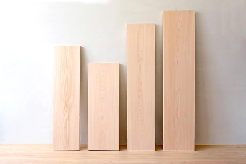 ヒノキクラフト 檜の一枚板1