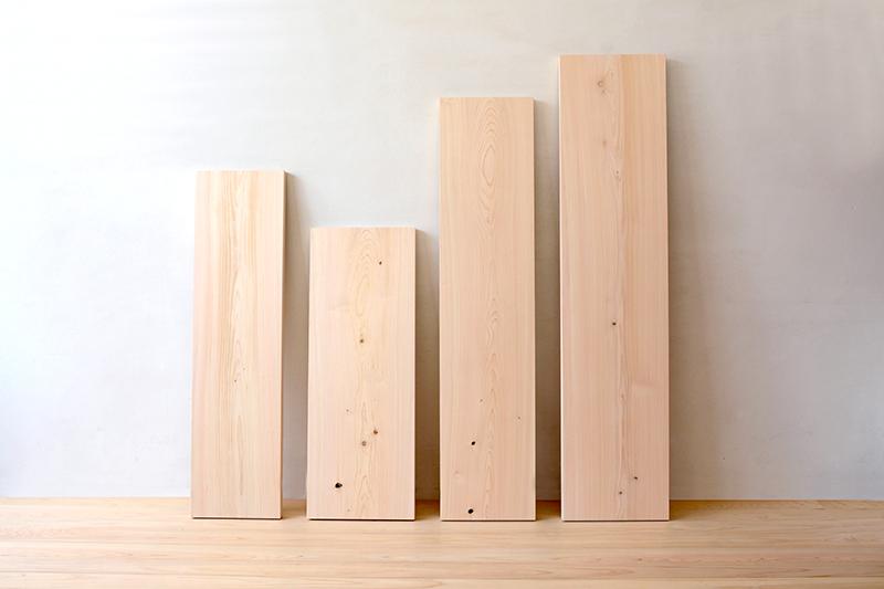 ヒノキクラフト 檜の一枚板2
