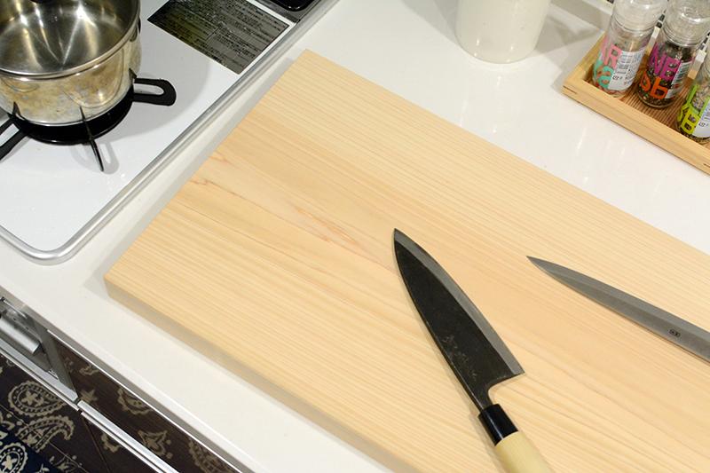 ヒノキクラフト 檜の一枚板3