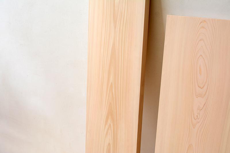 ヒノキクラフト 檜の一枚板5
