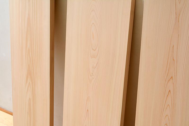 ヒノキクラフト 檜の一枚板6