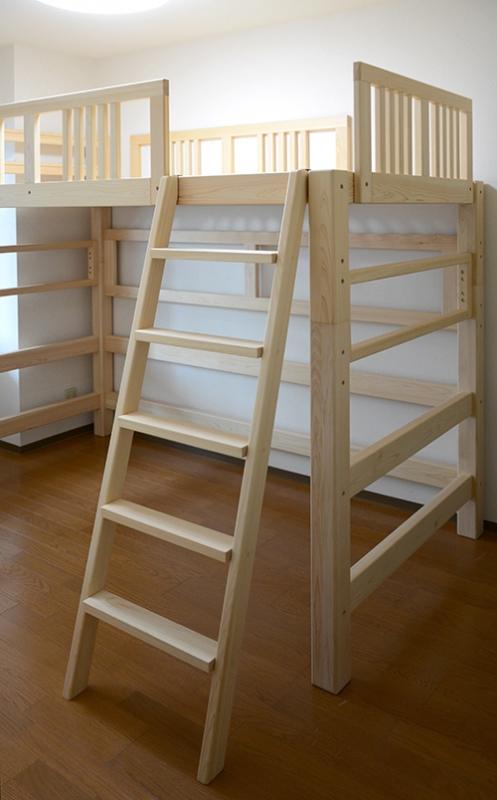 2段ベッド ヒノキクラフト