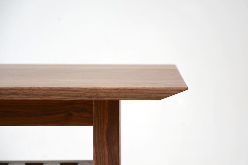 ヒノキクラフト ウォールナットのコーヒーテーブル3