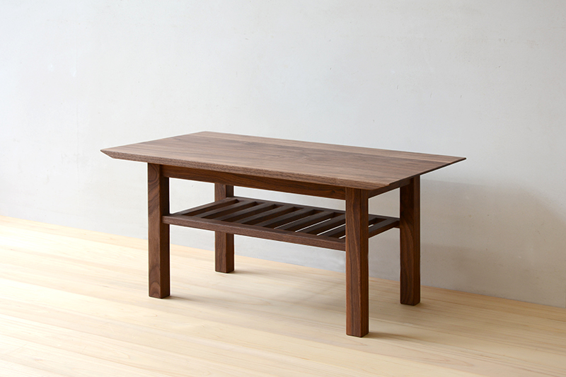 ヒノキクラフト ウォールナットのコーヒーテーブル5