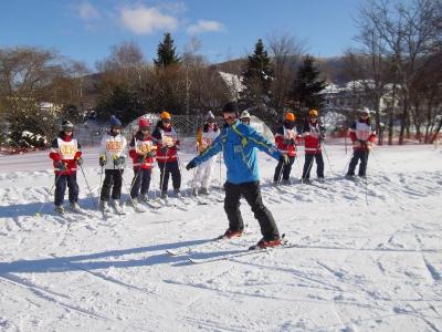 和泉 スキー1日目 3