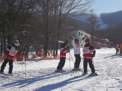 和泉 スキー1日目 4