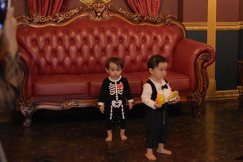 Halloween,ハロウィン,親子ハロウィン,アダムスファミリー,2017