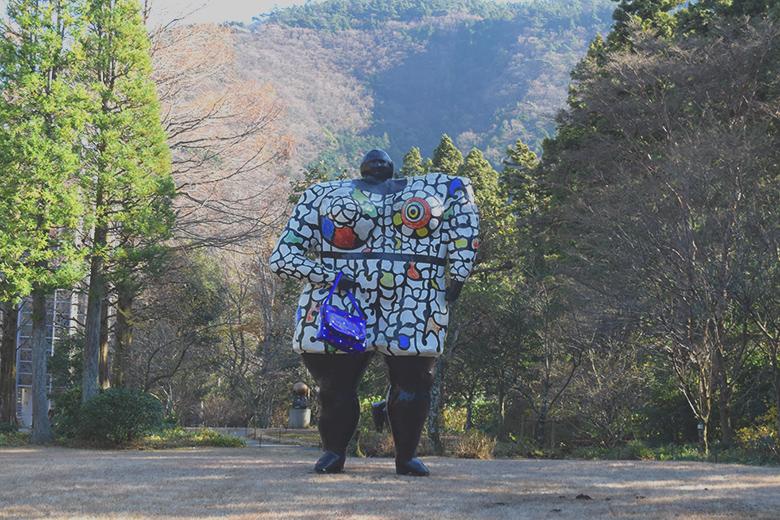箱根,彫刻の森,温泉,仙郷楼,奥の樹々,hakone,onsen