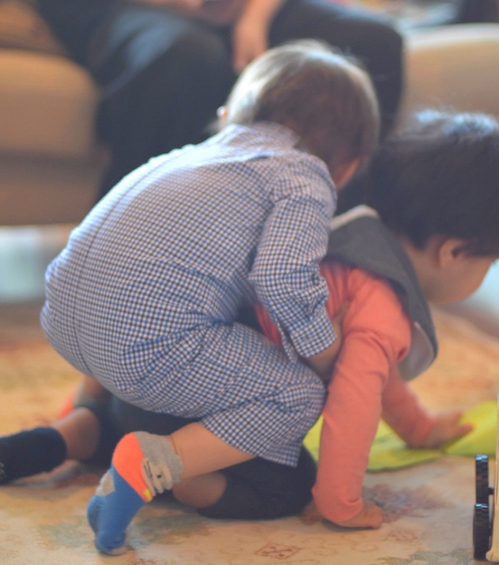 コトバの庭,ママブログ,育児,子育て,1歳,誕生日,手巻き寿司,ホームパーティー