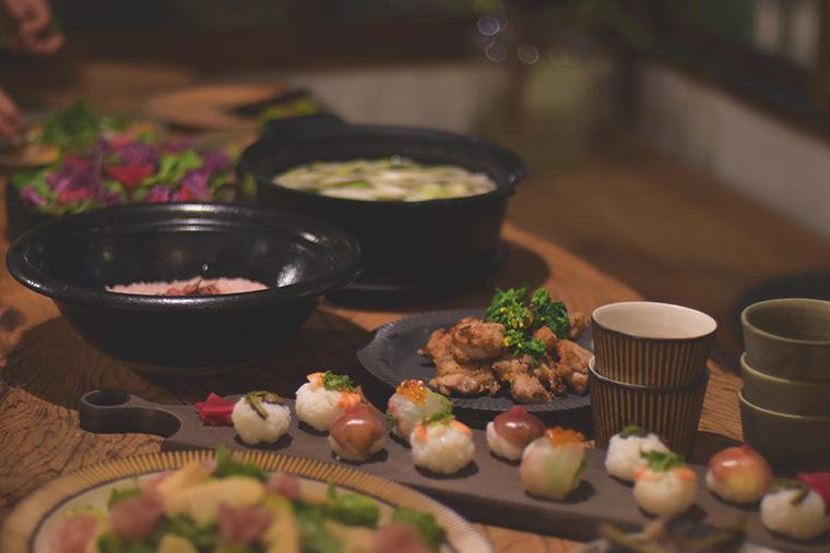 食と器,高須健太郎,酒井航,スモールギャザリング,器,食,テーブルコーディネート,食事会