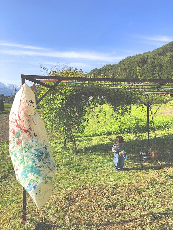 長野,安曇野,旅,親子旅,子連れ旅,コトバの庭,吉田ちかげ,chikage,DIY,こいのぼり