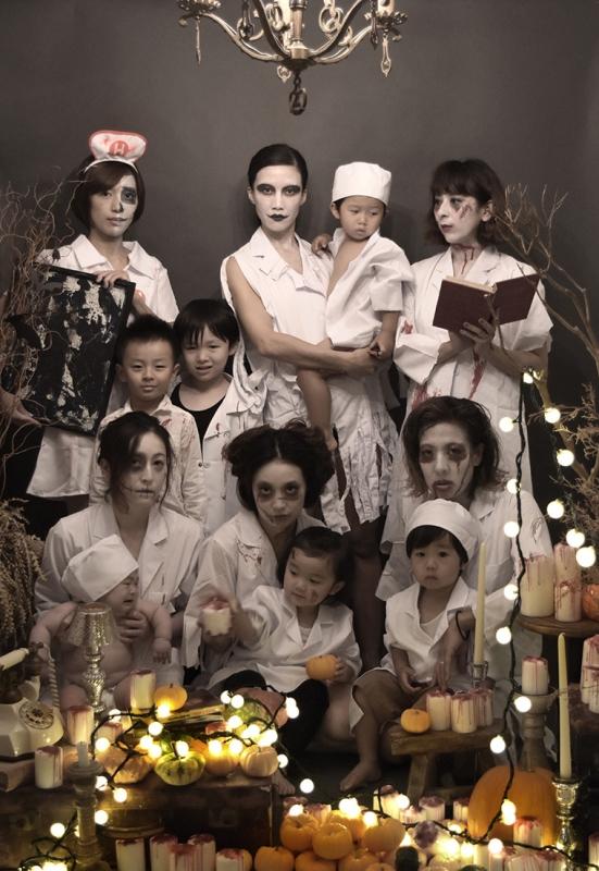 halloween,ハロウィン,仮装,おばけ,コスチューム,ゾンビ,博士