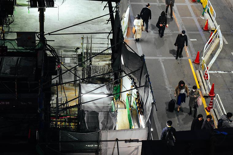 渋谷,東京,オリンピック前,2019年,平成,平成の渋谷,スクランブル交差点,工事中,SHIBUYA,TOKYO,BEFORE,OLYMPIC