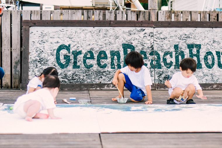 子ども,こども,知育,アート,お絵描き,美術,Painting,Party,創造性,吉田ちかげ