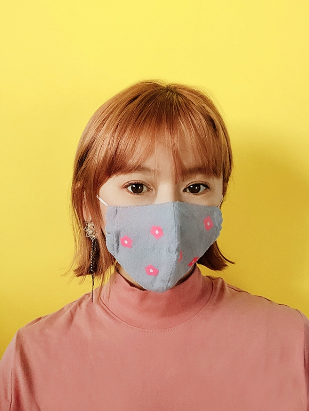 マスクステッカー,おしゃれマスク,マスクカスタマイズ