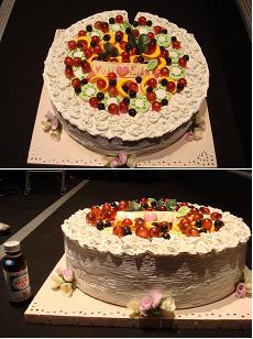 このケーキ、大きさが尋常じゃない!