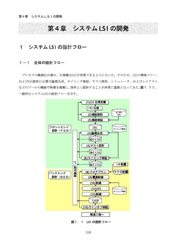 1.システムLSIの開発フロー
