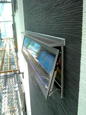 (株)建築士事務所民家 木造三階建て新築工事の外壁