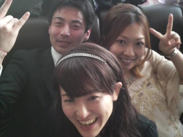 結婚披露パーティーへ☆   キッペ...