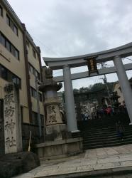 七高山巡り、諏訪神社入口☆16-1-6