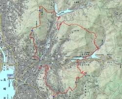 七高山巡り、ネットからの地図☆16-1-6
