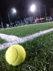 フットサル、テニスボール☆16-6-4