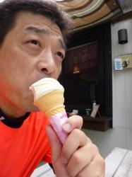 瑞牆山、ソフトクリーム☆16-9-11