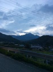 瑞牆山、遠景☆16-9-11