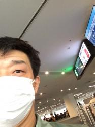 羽田空港、帰省搭乗前☆16-12-27