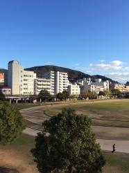 長崎、市営陸上競技場ふかん☆16-12-28