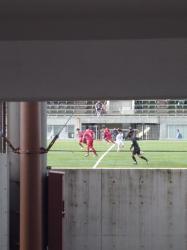 松山サッカー場、高架下のぞき☆16-12-28
