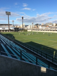 松山サッカー場、ふかん☆16-12-28