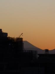 富士山、半分☆17-2-2