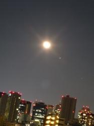 月と木星とスピカ☆17-2-15