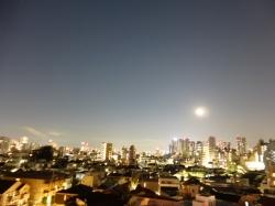 月と木星と北東方面☆17-2-15