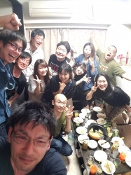 ホームパーティー、集合写真☆17-5-4