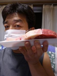 肉、厚切り☆17-6-15