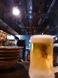 かばち、厨房とビール☆17-6-24