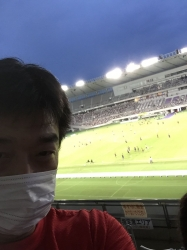 味スタ、スタンドから☆17-8-13