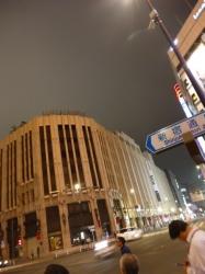 新宿三丁目伊勢丹前交差点☆17-9-6