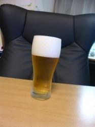 自宅でビール☆17-9-13