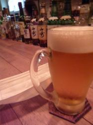 Hiruko、ビール☆17-10-1